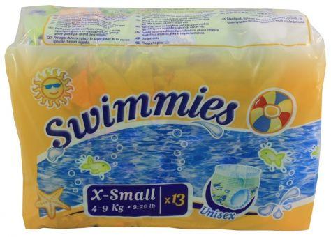 Swimmies Schwimmwindeln Einweg Pants XS 4-9kg 13er Pack unisex