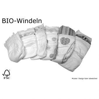 140 St BIO Babywindeln Größe 2 Mini von 3 bis 6 kg B-Ware weiche, dehnbare Seiten Einwegwindel