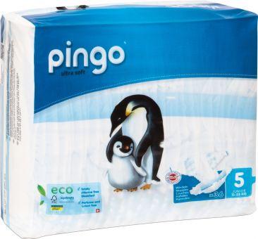 144 St. Pingo BIO Windeln JUNIOR Größe 5 (12-25 kg) 4x Beutel