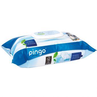 Pingo Feuchttücher 2x 80er Pack Tücher Aloe Vera dermatologisch getestet